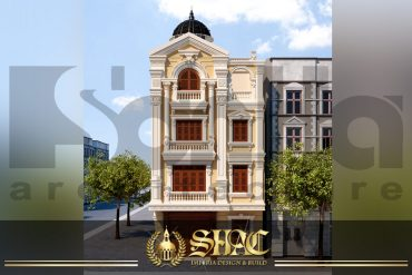 BIA kiến trúc biệt thự pháp cổ điển tại quảng ninh SH BTP 0020