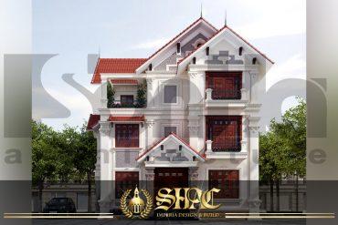 BIA kiến trúc biệt thự pháp tại quảng ninh SH BTP 0005