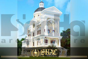 BIA thiết kế kiến trúc biệt thự lâu đài tai hải phòng sh btld 0005