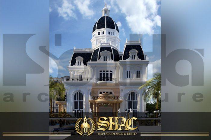 BIA thiết kế kiến trúc biệt thự lâu đài tại nha trang sh btld 0013