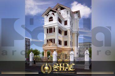 BIA thiết kế kiến trúc biệt thự tân cổ điển tại hà nội sh btcd 0003