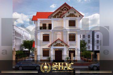 BIA thiết kế kiến trúc biệt thự tân cổ điển tại thanh hóa sh btcd 0005