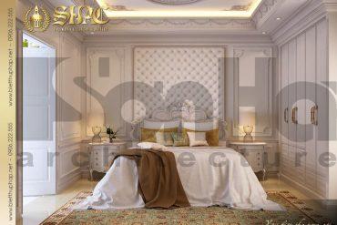 10 Mẫu nội thất phòng ngủ 2 biệt thự pháp đẹp tại sài gòn sh btp 0027