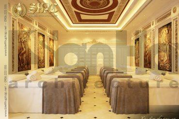 11 Mẫu nội thất phòng spa cổ điển biệt thự pháp tại quảng ninh sh btp 0023