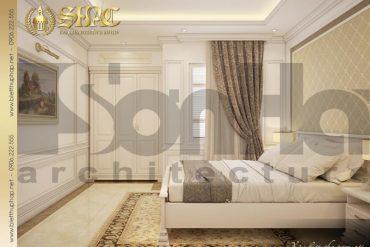 11 Thiết kế nội thất phòng ngủ 3 biệt thự pháp cổ điển tại sài gòn sh btp 0027