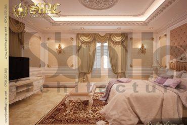 11.Thiết kế nội thất phòng ngủ cổ điển tại sài gòn SH BTP 0021