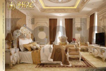13.Mẫu nội thất phòng ngủ cổ điển tại sài gòn SH BTP 0021