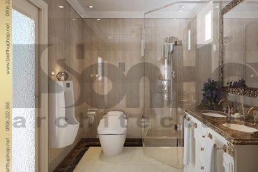 13 Thiết kế nội thất wc biệt thự pháp đẹp tại sài gòn sh btp 0027