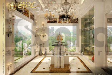14 Mẫu nội thất showroom biệt thự pháp cổ điển tại sài gòn sh btp 0027