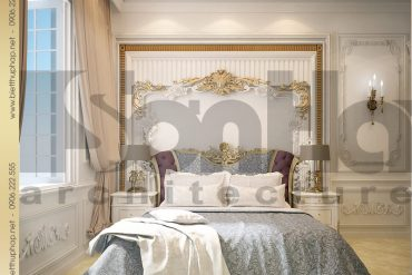 14.Thiết kế nội thất phòng ngủ cổ điển tại sài gòn SH BTP 0021