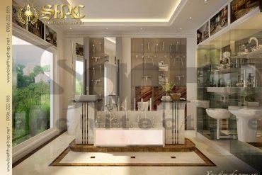 15 Thiết kế nội thất showroom biệt thự pháp đẹp tại sài gòn sh btp 0027