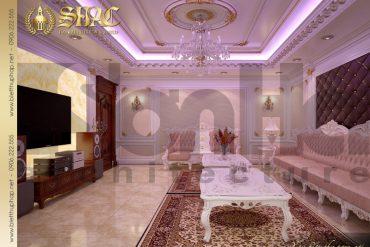17.Mẫu nội thất phòng hát cổ điển tại sài gòn SH BTP 0021
