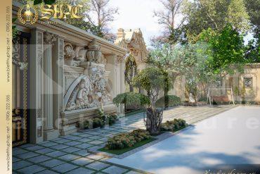 21.Mẫu nội thất sân vườn cổ điển tại sài gòn SH BTP 0021