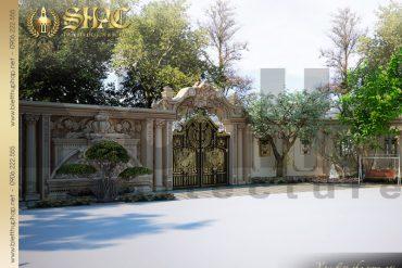 22.Thiết kế nội thất sân vườn cổ điển tại sài gòn SH BTP 0021