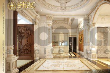 23.Mẫu nội thất sảnh cổ điển tại sài gòn SH BTP 0021