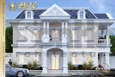 3 Thiết kế biệt thự tân cổ điển tại sài gòn sh btcd 0021