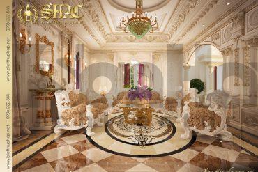 3.Thiết kế nội thất phòng khách cổ điển tại sài gòn SH BTP 0021