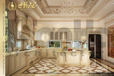 4.Mẫu nội thất phòng bếp cổ điển tại sài gòn SH BTP 0021