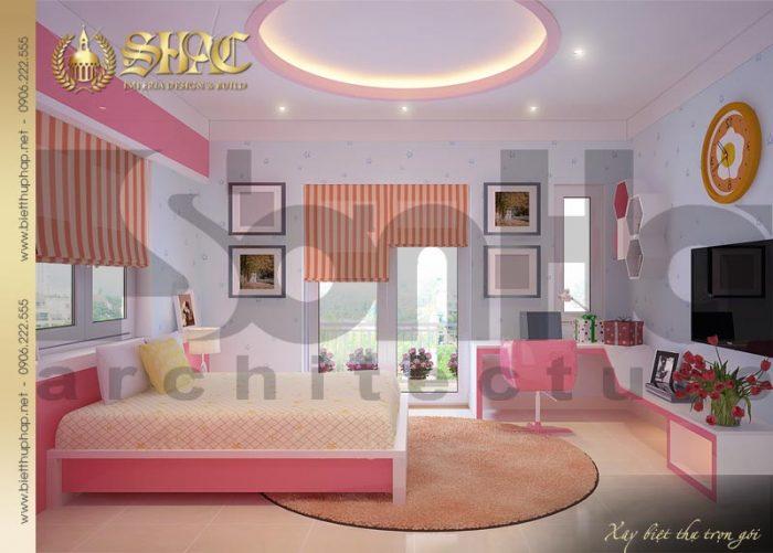 Thiết kế ấn tượng và được đánh giá cao của mẫu phòng ngủ nội thất bố trí đẹp