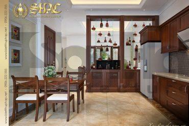 5 Mẫu nội thất phòng bếp biệt thự tân cổ điển mini tại hải phòng sh btcd 0020