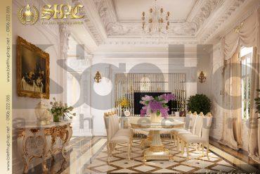 5.Thiết kế nội thất phòng ăn cổ điển tại sài gòn SH BTP 0021