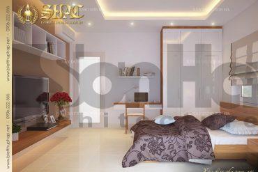 5 Thiết kế nội thất phòng ngủ khách biệt thự pháp đẹp tại sài gòn sh btp 0027