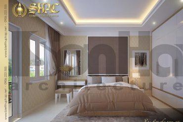 6 Mẫu nội thất phòng ngủ vip biệt thự pháp đẹp tại sài gòn sh btp 0027