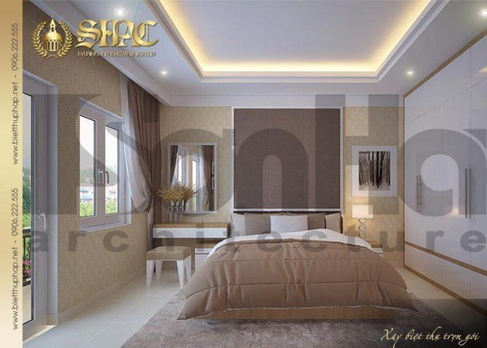 Mẫu nội thất phòng ngủ pháp đẹp mang đến không gian nghỉ ngơi ấm cúng tinh tế