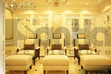 6 Thiết kế nội thất phòng spa biệt thự pháp tại quảng ninh sh btp 0023