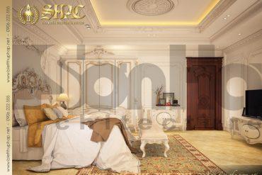 8.Mẫu nội thất phòng ngủ cổ điển tại sài gòn SH BTP 0021