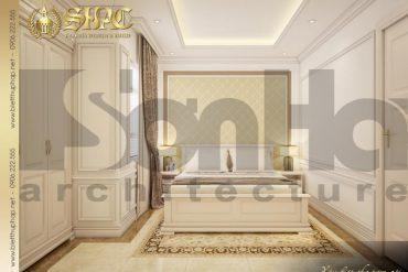 8 Mẫu phòng ngủ 1 biệt thự pháp đẹp tại sài gòn sh btp 0027