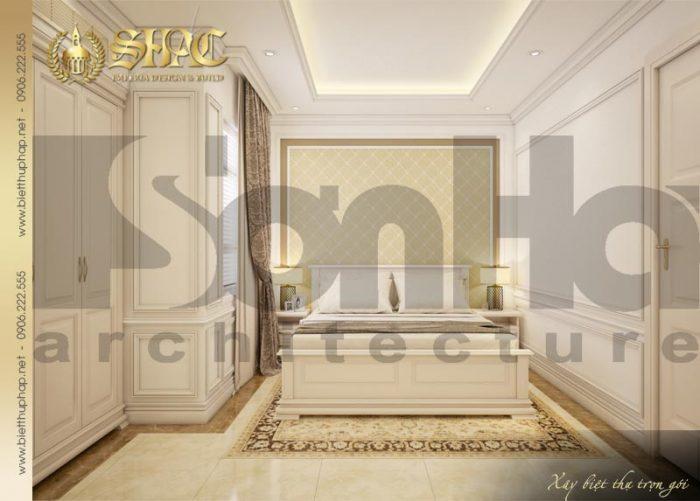 Mẫu phòng ngủ biệt thự phong cách pháp đẹp được yêu thích bởi sự tinh tế