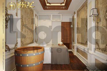 8 Thiết kế nội thất phòng spa đơn biệt thự pháp tại quảng ninh sh btp 0023