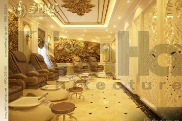 9 Mẫu nội thất phòng massage đẹp spa biệt thự pháp tại quảng ninh sh btp 0023