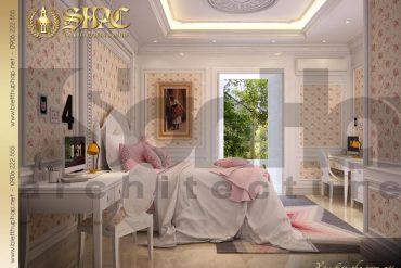 9 Thiết kế nội thất phòng ngủ 2 biệt thự pháp cổ điển tại sài gòn sh btp 0027