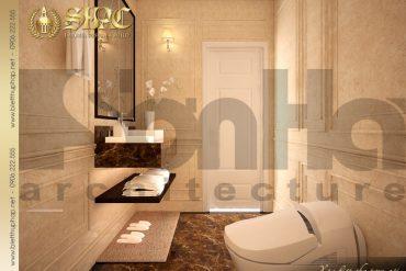 13.Thiết kế nội thất phòng tắm wc biệt thự pháp tại hà nội SH BTP 0029