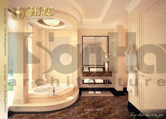 Mẫu thiết kế nội thất phòng tắm và vệ sinh dễ dàng khiến ai cũng bị choáng ngợp