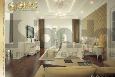 6.Mẫu nội thất phòng ngủ biệt thự pháp tại hà nội  SH BTP 0029