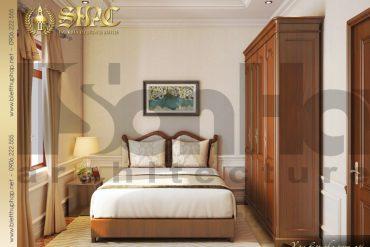 6.Mẫu nội thất phòng ngủ biệt thự tân cổ điển tại quảng bình SH BTCD 0027