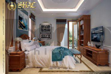 8.Mẫu nội thất phòng ngủ biệt thự tân cổ điển tại quảng bình SH BTCD 0027