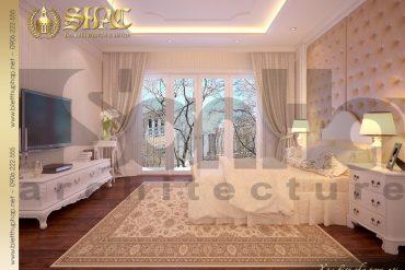8.Mẫu nội thất phòng ngủ đẹp biệt thự pháp tại hà nội SH BTP 0029