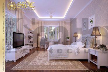 9.Thiết kế nội thất phòng ngủ phong cách pháp biệt thự pháp tại hà nội SH BTP 0029