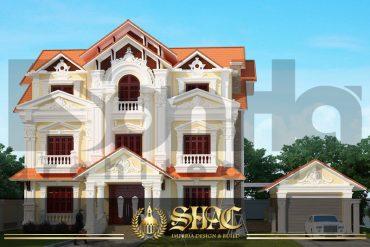 BIA thiết kế kiến trúc tân cổ điển tại Phú Thọ SH BTCD 0024