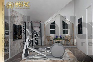 13 Thiết kế nội thất phòng tập biệt thự tân cổ điển pháp tại hải phòng sh btcd 0029