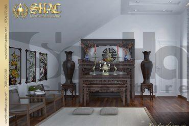 14 Mẫu nội thất phòng thờ biệt thự tân cổ điển đẹp tại hải phòng sh btcd 0029