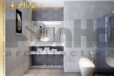 15 Thiết kế nội thất phòng tắm wc biệt thự tân cổ điển pháp tại hải phòng sh btcd 0029