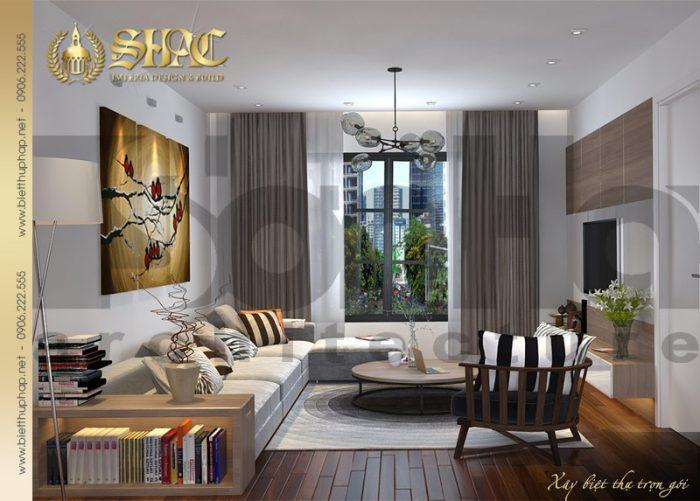 Thêm một phương án thiết kế nội thất phòng bếp ăn đẹp của biệt thự tân cổ điển
