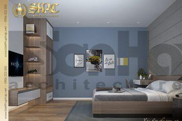 7 Thiết kế nội thất phòng ngủ 1 biệt thự tân cổ điển đẹp tại hải phòng sh btcd 0029