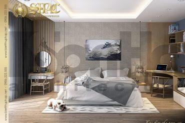8 Mẫu nội thất phòng ngủ 2 biệt thự tân cổ điển đẹp tại hải phòng sh btcd 0029