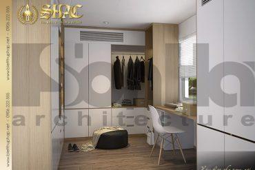 9 Thiết kế nội thất phòng ngủ 2 biệt thự tân cổ điển pháp tại hải phòng sh btcd 0029